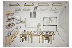 Desenho de Afonso com 14 anos