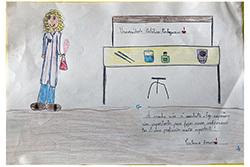 Desenho de Inês com 7 Anos