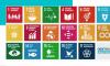 Vários icons para representar os objetivos de desenvolvimento sustentável